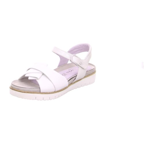 Damen Tamaris Komfort Sandalen weiss Sandalette 38