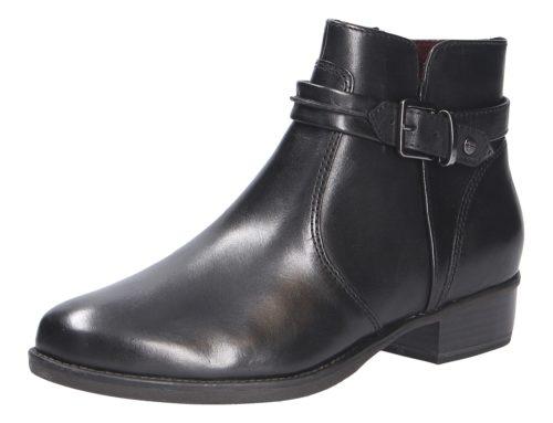 Damen Tamaris Stiefeletten schwarz Damen Stiefel 37