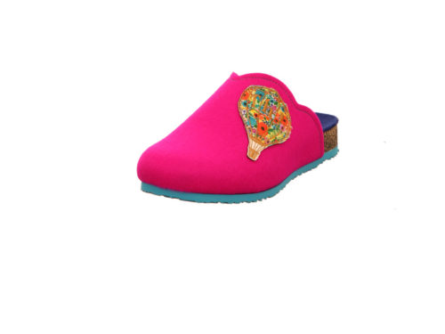 Damen Think Hausschuhe lila/pink DUFDE 41