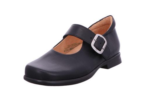 Damen Think Komfort Slipper schwarz 38,5