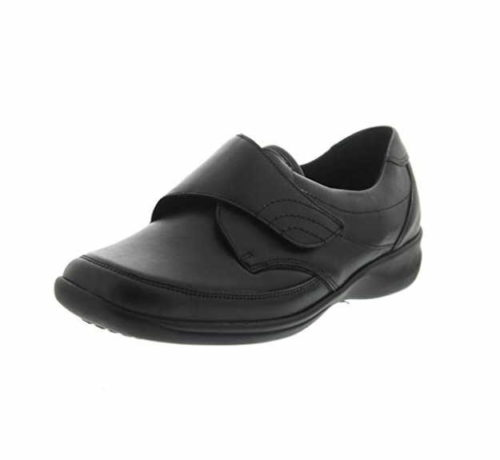 Damen Waldläufer Komfort Slipper schwarz Millu Soft 40,5