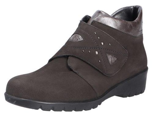 Damen Waldläufer Stiefeletten grau Damen Stiefel 40,5