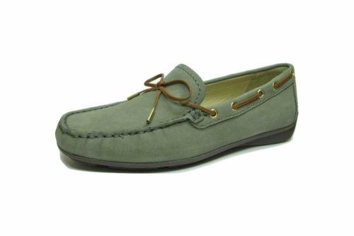 Damen Wirth Klassische Slipper grün 40,5