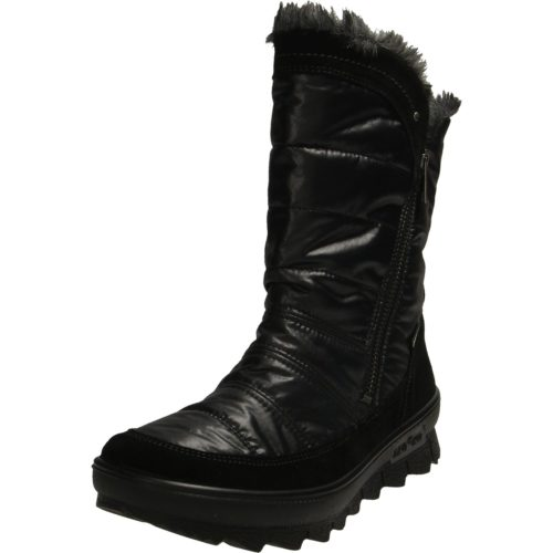 Damen legero Stiefel schwarz 37,5