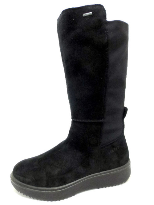 Damen legero Stiefel schwarz 38