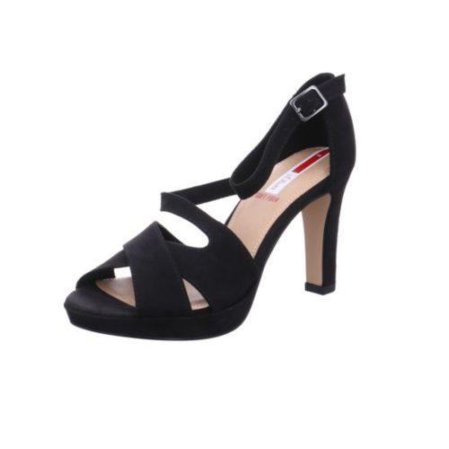 Damen s.Oliver Klassische Sandalen schwarz Da.-Sandalette 37