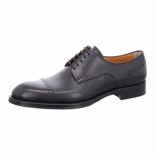 Herren Flecs Business Schuhe schwarz Business Schnürschuh 39