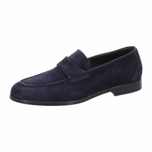 Herren Flecs Klassische Slipper blau Slipper 45