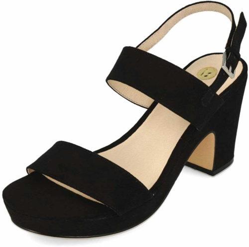Herren La Strada Riemchen Sandalen schwarz Sandaletten 36
