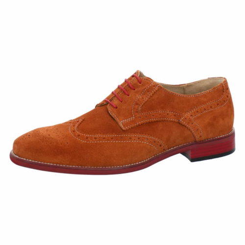 Herren Nicola Benson Business Schuhe braun Schnürschuh 41