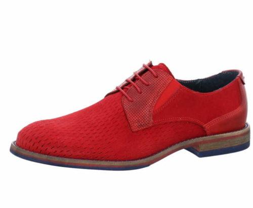 Herren Nicola Benson Business Schuhe rot Schnürschuh 44