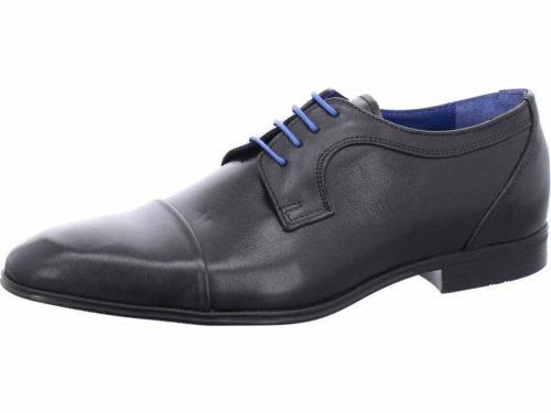 Herren Nicola Benson Business Schuhe schwarz Business Schnürschuh 43