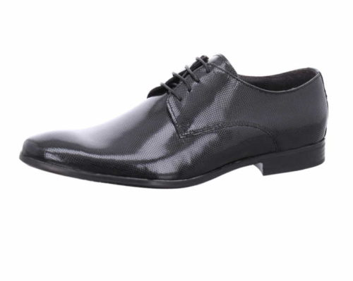 Herren Nicola Benson Business Schuhe schwarz Schnürschuh 43