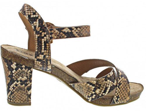 Mexx Damen-Sandalen Sandalette brown braun (Mxpw0089W2000)