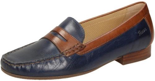 Sioux Corbina (63240) blue/cognac