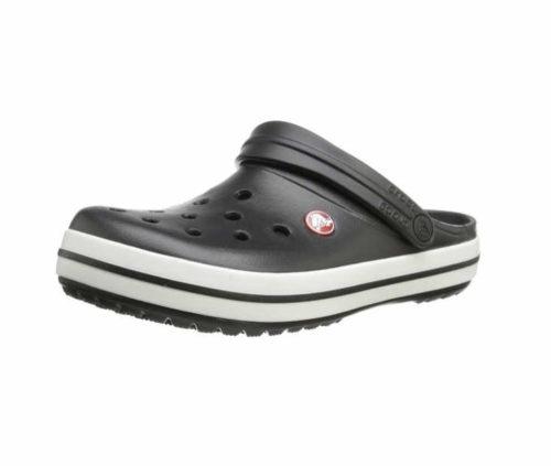 Unisex Crocs Pantoletten schwarz 10