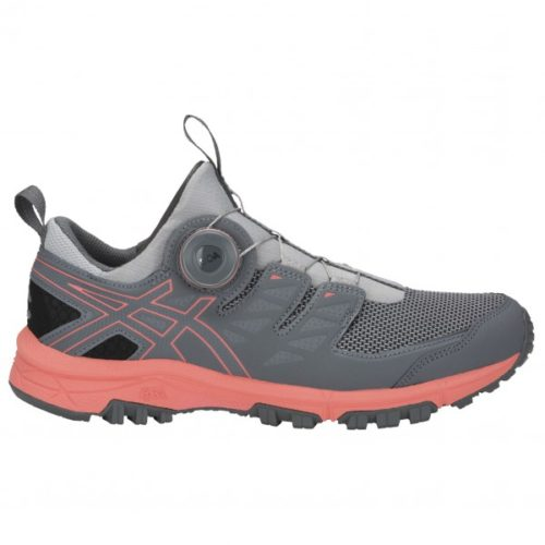 Asics - Women's Gel-FujiRado - Trailrunningschuhe Gr 6 grau/rot