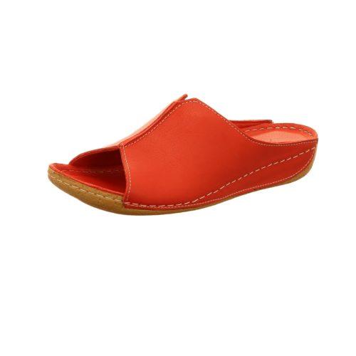 Damen Andrea Conti Klassische Slipper rot 42