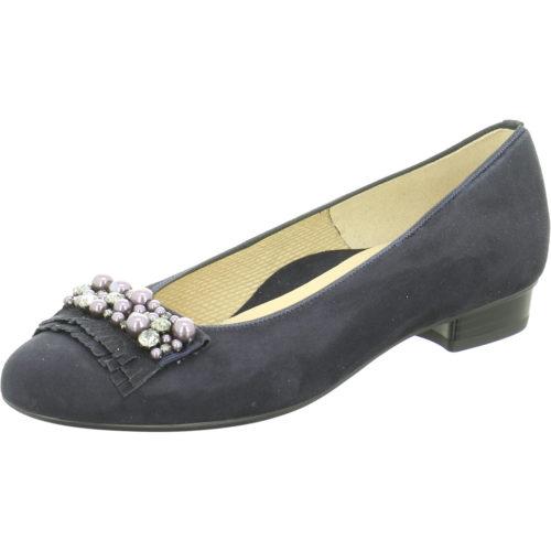 Damen Ara Ballerinas blau 37,5