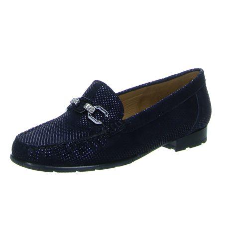 Damen Ara Klassische Slipper blau 42