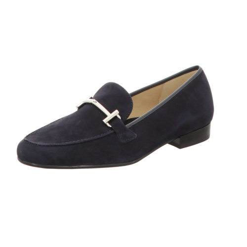 Damen Ara Klassische Slipper blau KENT 40
