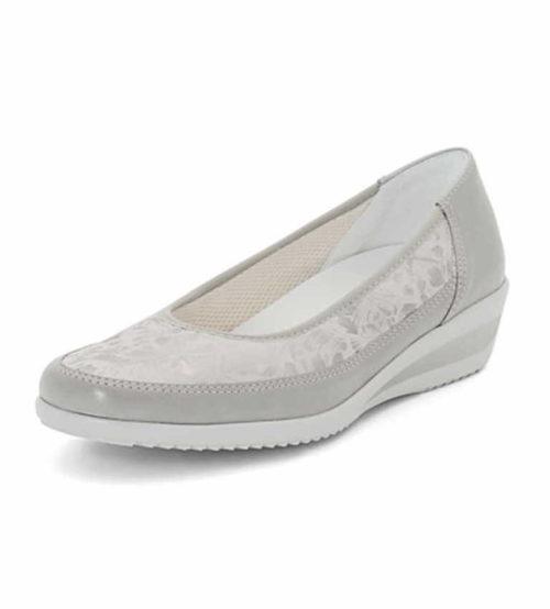 Damen Ara Komfort Slipper grau 38,5