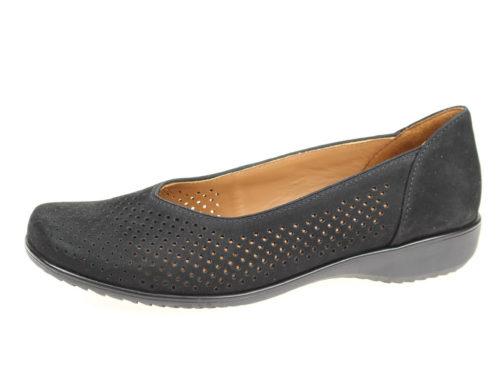 Damen Ara Komfort Slipper schwarz 37