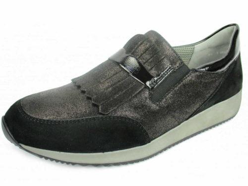 Damen Ara Komfort Slipper schwarz Lissabon 38