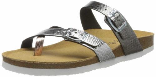 Damen Ara Pantoletten metallic FIDSCHI 38