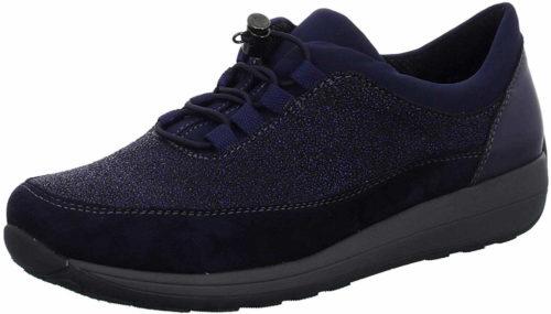 Damen Ara Sportliche Slipper blau 37,5