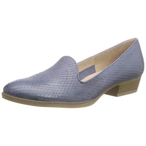 Damen Caprice Klassische Slipper blau 41
