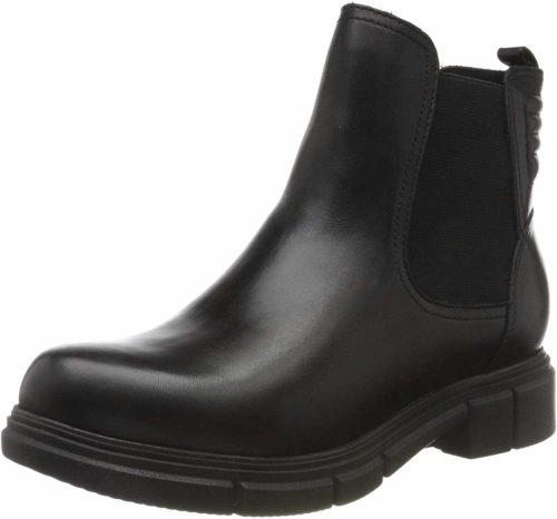 Damen Caprice Stiefeletten schwarz Chelsea Boot 39