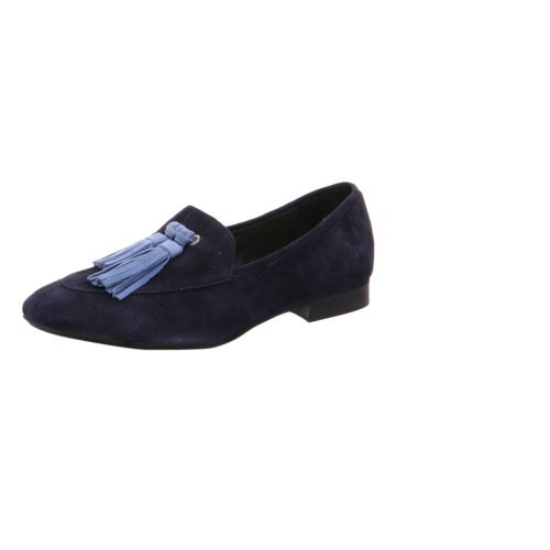 Damen Donna Carolina Klassische Slipper blau 41