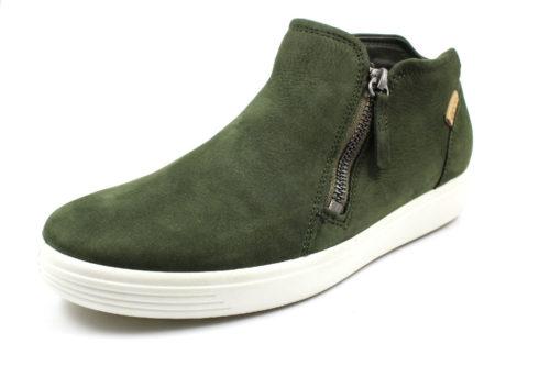 Damen Ecco Sportliche Slipper grün SOFT 7 39