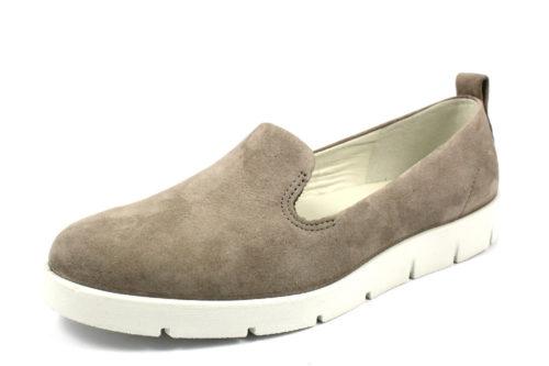 Damen Ecco Sportliche Slipper grau 41
