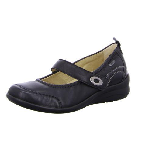 Damen Fidelio Komfort Slipper schwarz 356006 37