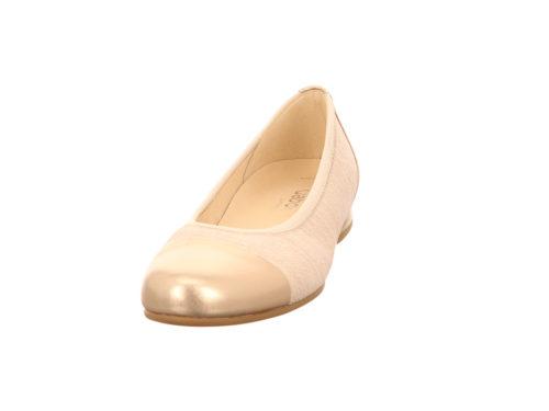 Damen Gabor Ballerinas beige Florenz 39