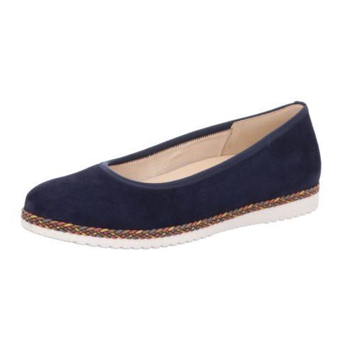 Damen Gabor Ballerinas blau 37,5
