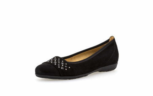 Damen Gabor Ballerinas schwarz 36