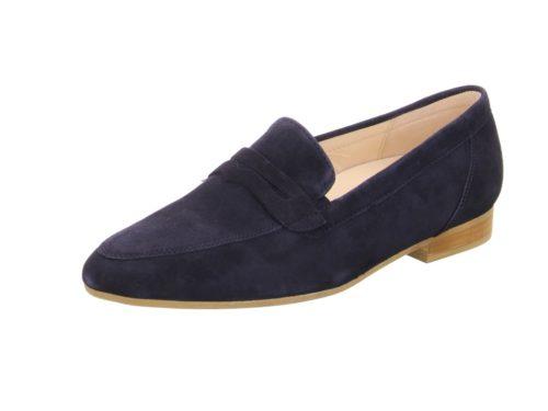 Damen Gabor Klassische Slipper blau 37,5