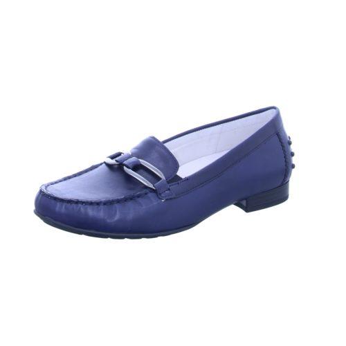 Damen Gabor Komfort Slipper blau 37