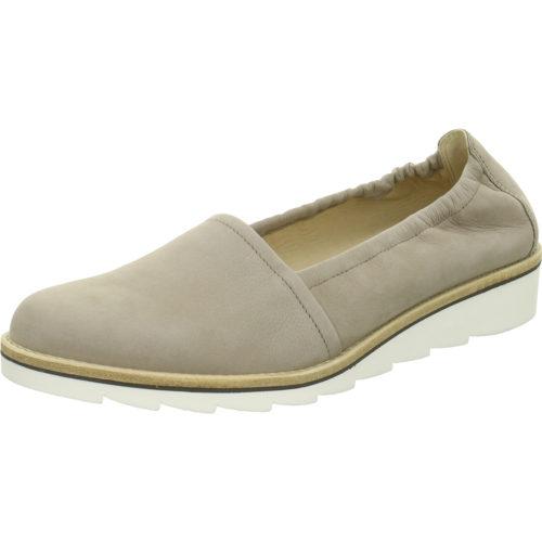 Damen Gabor Komfort Slipper grau 40,5