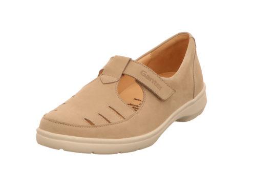 Damen Ganter Komfort Slipper beige 42,5