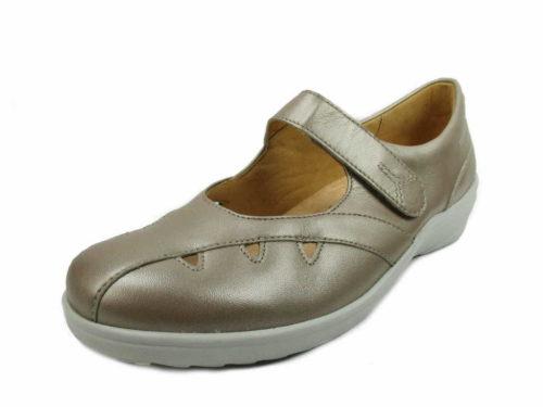 Damen Ganter Komfort Slipper beige Helga Sensitive 38
