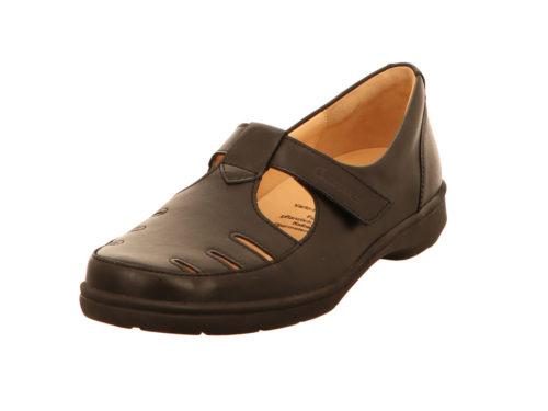 Damen Ganter Komfort Slipper schwarz 40,5