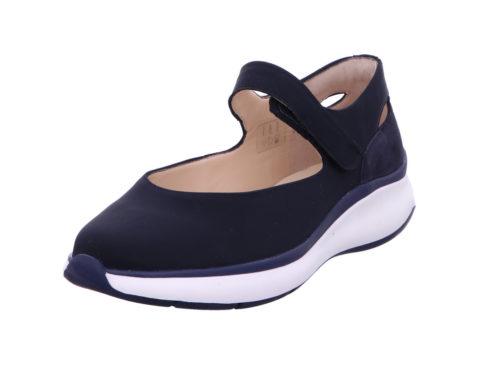 Damen HASSIA Komfort Slipper blau 37,5