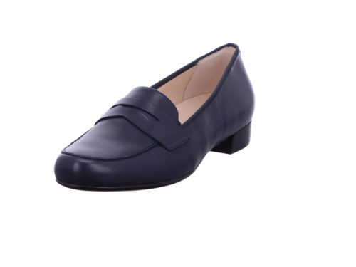 Damen HASSIA Komfort Slipper blau 41