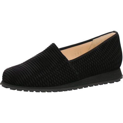 Damen HASSIA Komfort Slipper schwarz 40