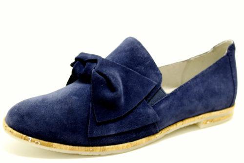 Damen Marco Tozzi Klassische Slipper blau 37