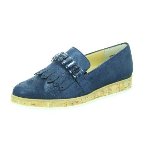 Damen Paul Green Klassische Slipper blau 39